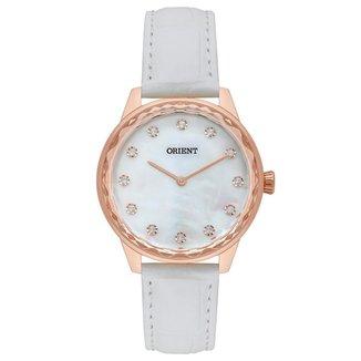 Relógio Orient Feminino Unique Branco FRSC0032-B1BX