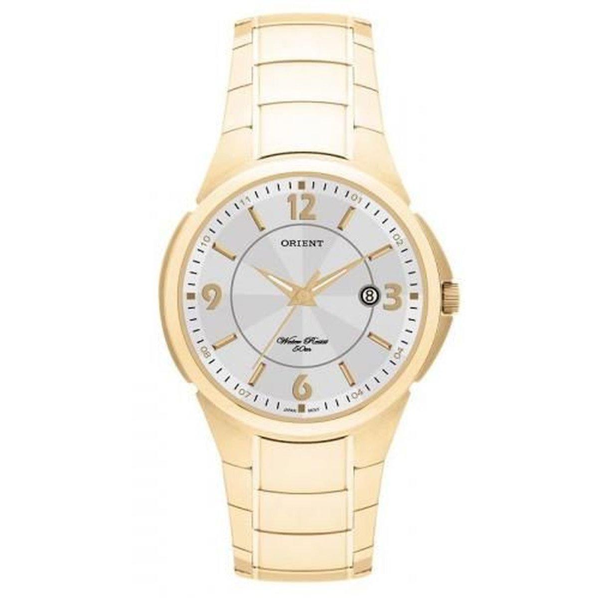 7cfdc380384 Relógio Orient Masculino Analofico - Dourado - Compre Agora