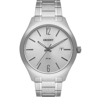 Relógio Orient Masculino Analógico Prata - MBSS1362 S2SX