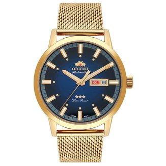 Relógio Orient Masculino Automatic Dourado 469GP085F-D1KX