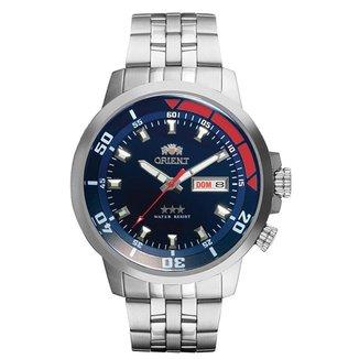 Relógio Orient Masculino Automatic Prata 469SS058F-D1SX