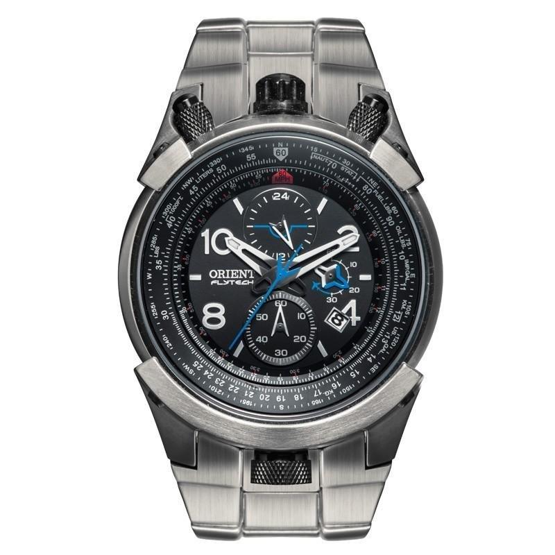 fe77f95fb4a Relógio Orient Masculino FlyTech - MBTTC008 P2GX - Chumbo - Compre Agora
