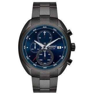 Relógio Orient Masculino Solar Tech Cinza MYSSC011D1GX