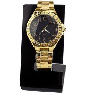 Relógio Orizom Maria Feminino ( Detalhes em Strass )