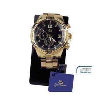 Relógio Orizom Spaceman (pulseira de Aço)