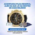 Relógio Orizom Spaceman Masculino (Edição Especial) + Carteira