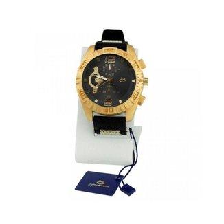 Relógio Orizom Spaceman masculino + colar e uma pulseira