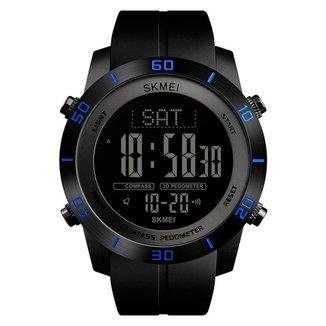 Relógio Pedômetro Skmei Digital 1354 Masculino