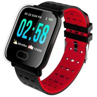 Relógio Pisste Sport Smartwatch Pulseira A6 Monitor Cardíaco Android Ios