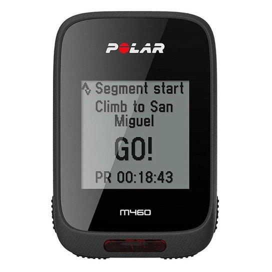 Relógio Polar M460 Ciclocomputador com GPS - Preto