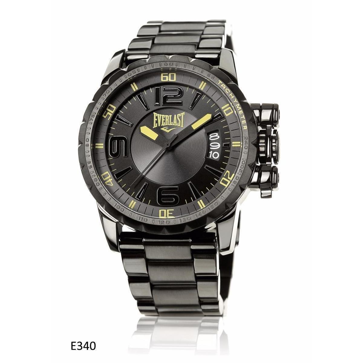 752dc21b9b3 Relógio Pulso Everlast Analógico E340 Masculino - Preto - Compre Agora