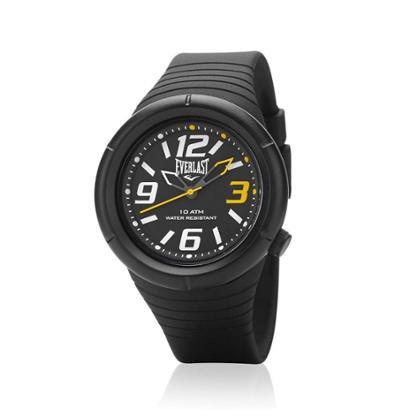 Relógio Pulso Everlast E666 Caixa E Pulseira Abs Masculino - Masculino