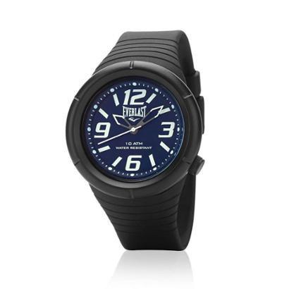 Relógio Pulso Everlast E669 Caixa E Pulseira Abs Masculino - Masculino