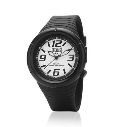 Relógio Pulso Everlast Masculino Preto À Prova D'água E667 - Masculino