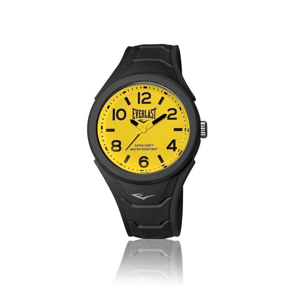 5b9a5f54413 Relógio Pulso Everlast Shape Caixa Abs Revestido Silicone - Preto - Compre  Agora