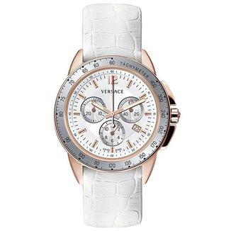 Relógio Pulso Versace Mostrador Index Luminoso Casual