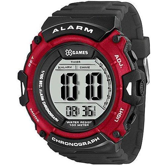 Relógio Pulso X-games Masculino Xmppd330 - Vermelho