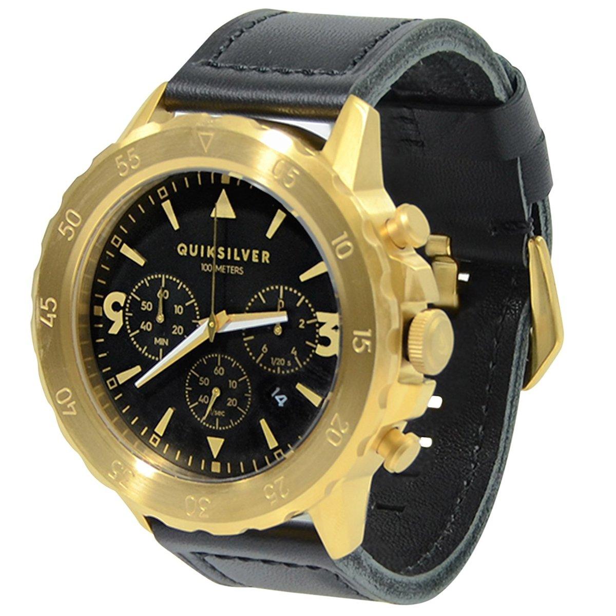 c2bbf1dfbecac Relógio Quiksilver B-52 Chrono Leather - Compre Agora   Netshoes