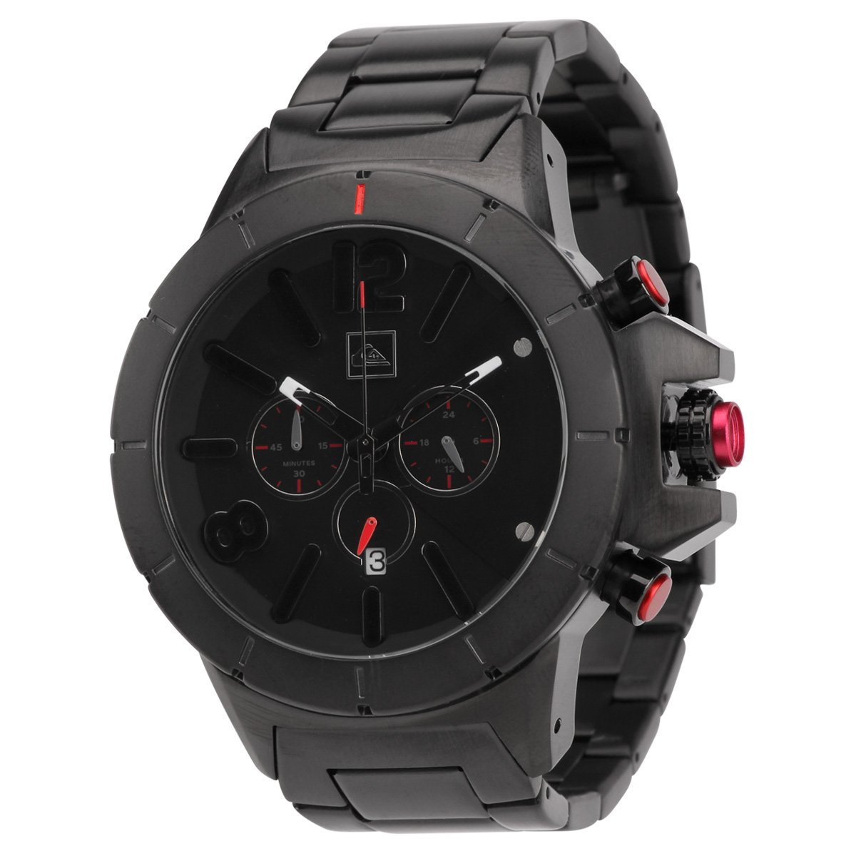 7759405bbd6 Relógio Quiksilver Kaspian Metal - Preto - Compre Agora
