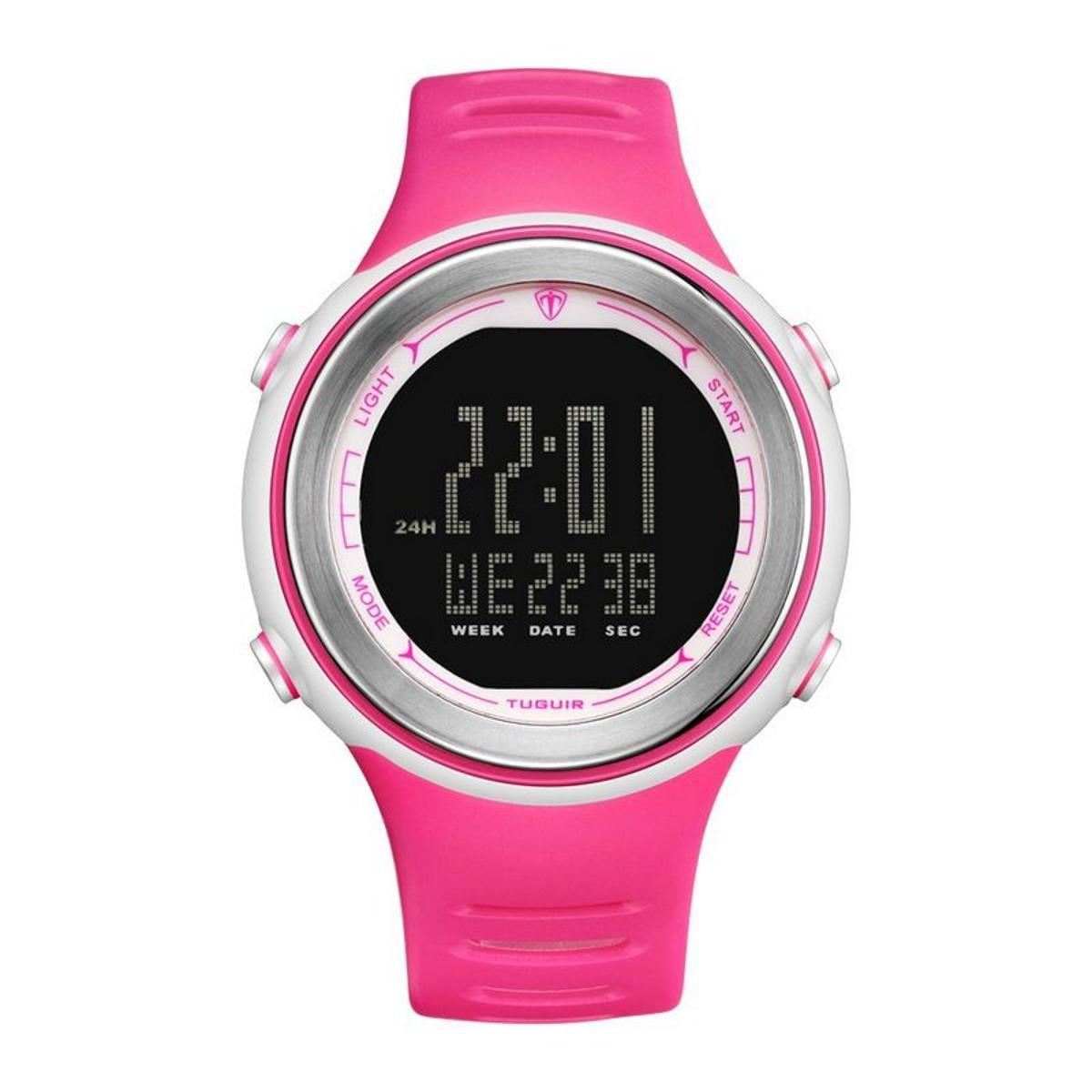 9b041f34eee Relógio Romaplac Tuguir Digital - Rosa - Compre Agora