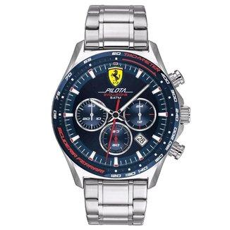 Relógio Scuderia Ferrari Masculino Aço - 830749