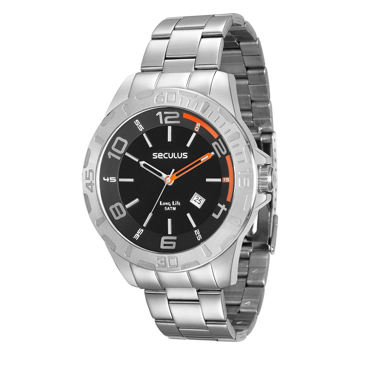 30a41f4b7f6 Relógio Seculus Analógico 28805G0SVNA1 Masculino - Compre Agora ...