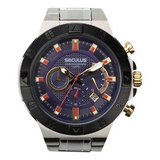 Relógio Seculus Analógico Masculino 20428GPSVCA1