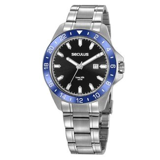 Relógio Seculus Masculino 20801Gosvna3