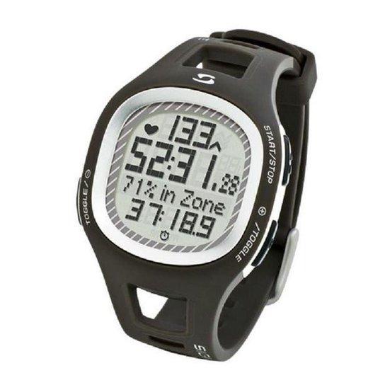 Relógio Sigma Com Monitor Cardíaco Pc 10.11 - Preto