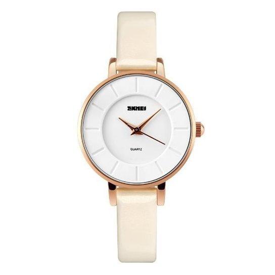 Relógio Skmei Analógico 1178 - Branco