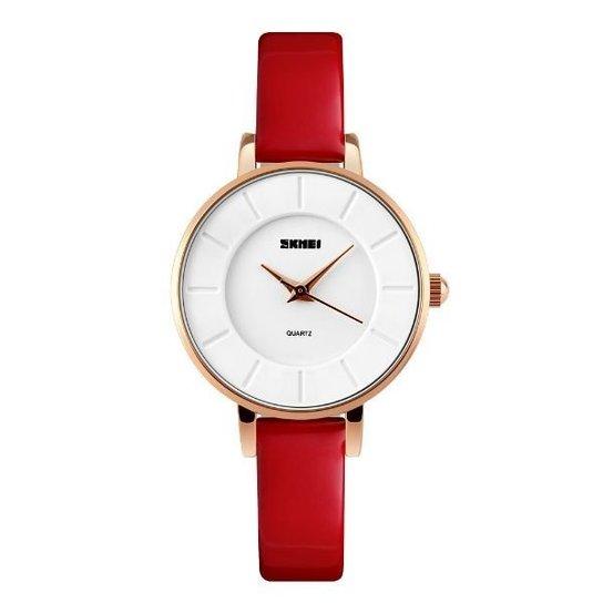 Relógio Skmei Analógico 1178 - Vermelho