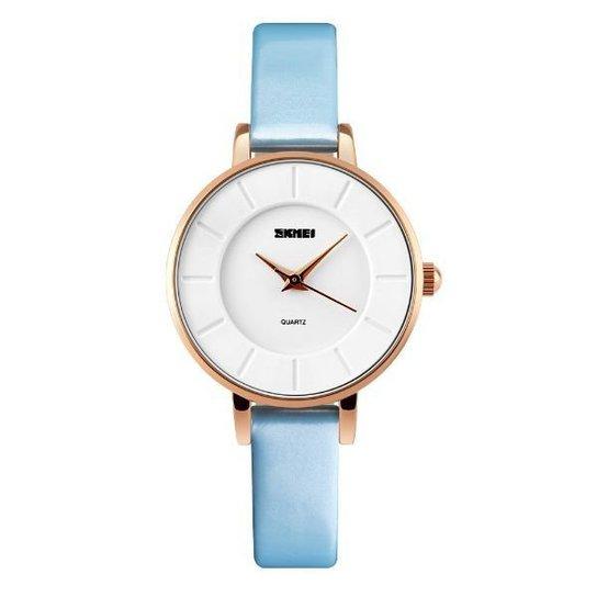 Relógio Skmei Analógico 1178 - Azul Claro