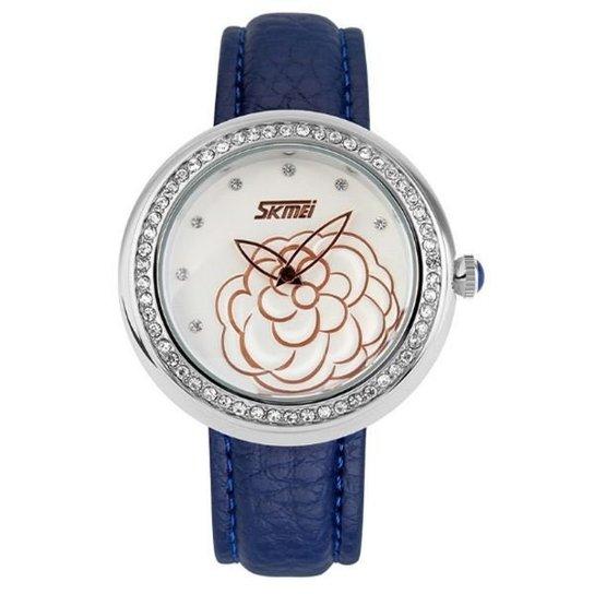 Relógio Skmei Analógico 9087 - Azul
