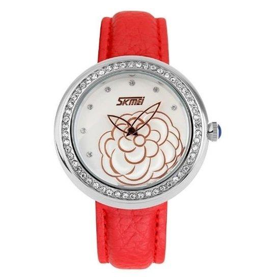 Relógio Skmei Analógico 9087 - Vermelho