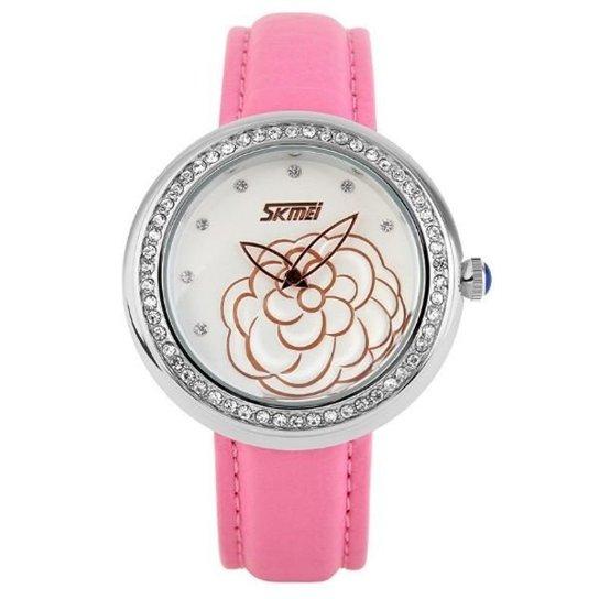 Relógio Skmei Analógico 9087 - Rosa