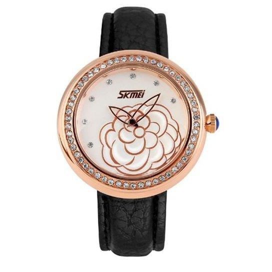 Relógio Skmei Analógico 9087 - Dourado