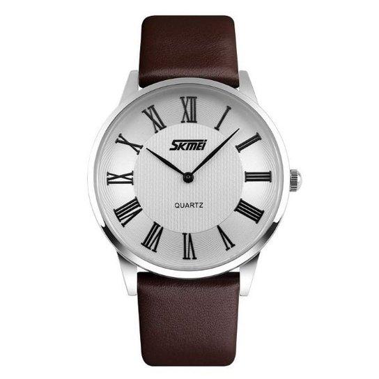 Relógio Skmei Analógico 9092 - Marrom