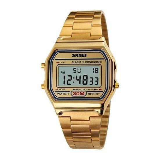 Relógio Skmei Digital 1123 - Dourado