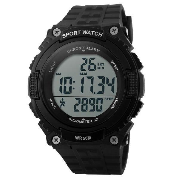 21eff4381a2 Relógio Skmei Digital Pedômetro 1112 - Preto - Compre Agora