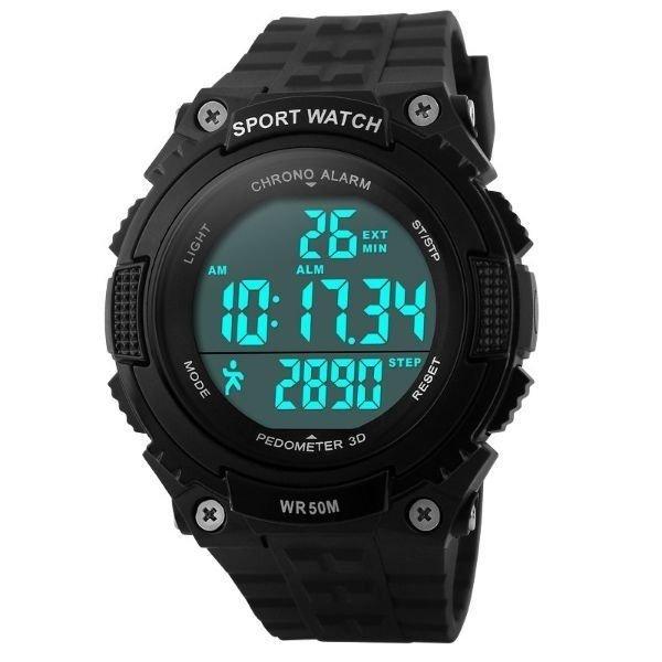 4ae56c05adf Relógio Skmei Digital Pedômetro 1112  Relógio Skmei Digital Pedômetro 1112  ...