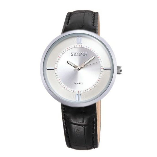 Relógio Skone Analógico 9100 - Prata