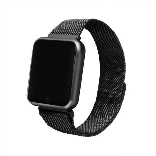 Relógio Smartwatch FitGear Force Effect - Preto