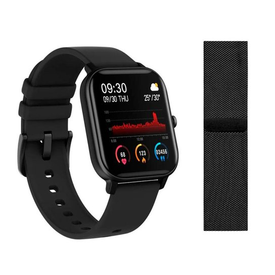 Relógio Smartwatch Fitgear Intense - Preto