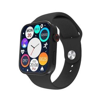 Relógio Smartwatch IWO N76 Serie 7 Faz e Recebe Ligações Preto