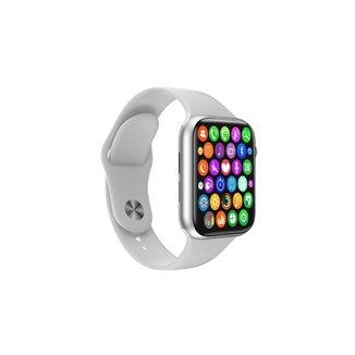 Relógio Smartwatch Iwo8 Troca Pulseira W34s Faz e Recebe Ligações Branco