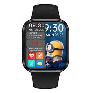 Relógio Smartwatch Iwo8 W34S Faz e Recebe Ligações Preto