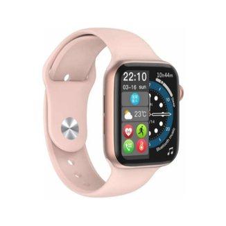 Relógio Smartwatch Iwo8 W34S Faz e Recebe Ligações Rosa