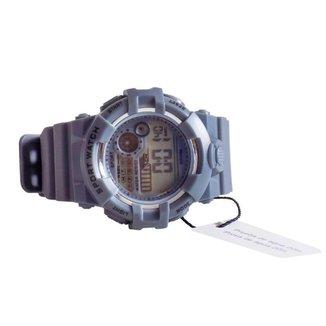Relógio Sport Digital Led C/ Pulseira De Silicone Masculino
