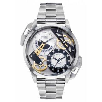 Relógio Storm London Dualon Silver Masculino