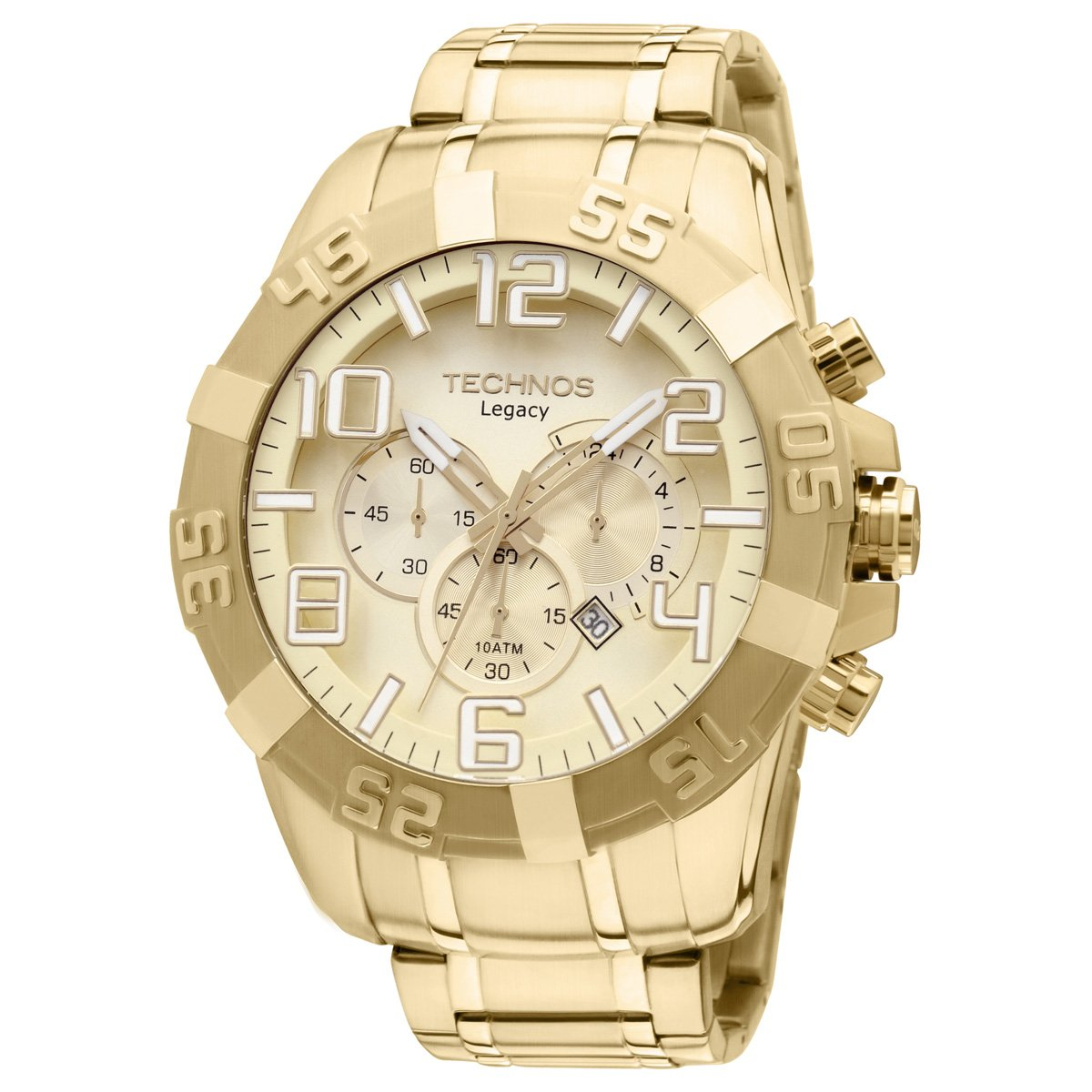 9fc491044e4 Relógio Technos Analógico - Dourado - Compre Agora